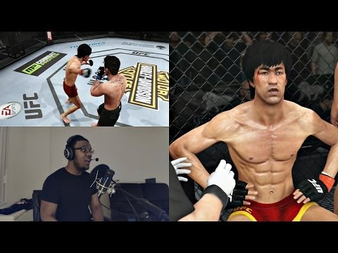 EA Sports UFC PS4 Gameplay FACECAM - Bruce Lee Unleashed!