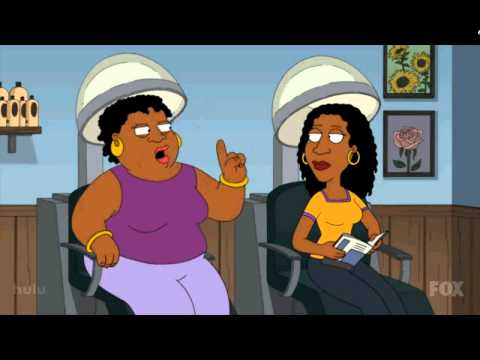 Family guy - you're like a black woman in hindsight