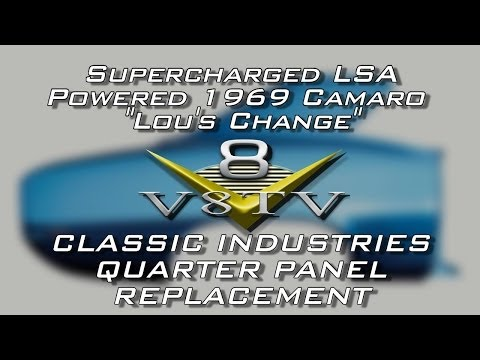Quarter Panel Replacement Tips How To Video 1969 Camaro