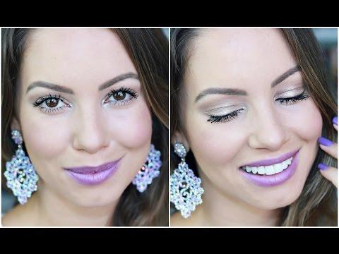 Maquiagem Ano Novo e Festas   Inspiração por Juliana Goes