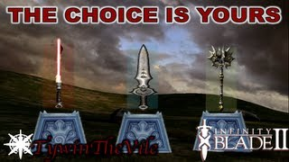 Infinity Blade 2 What Weapon Class Is The Best ? (HEAVY
