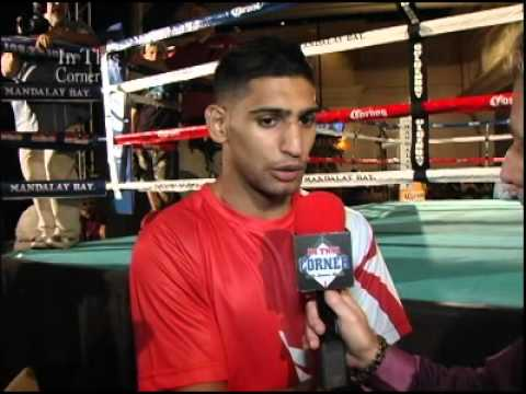 Amir Khan V Danny garcia  Khan is Finally Back in the Ring