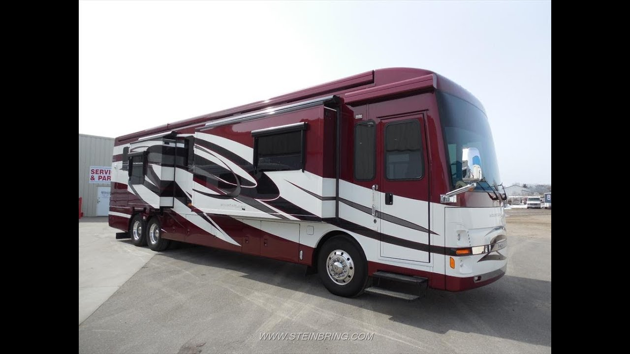 2011 newmar mountain aire 4336 used luxury class a for Class a diesel motor homes