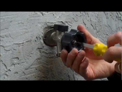 Mansfield Style Hydrant Repair Video Leaking Behind The