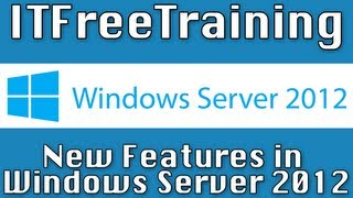 New Features In Windows Server 2012