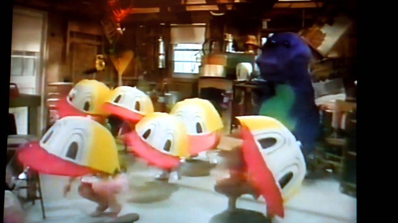Barney video duck