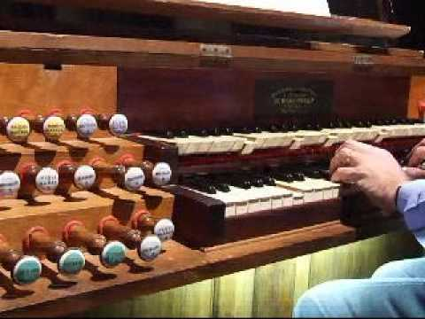 Léon Boëllmann-suite gothique, Introduction et menuet-Pierre ASTOR, orgue Firminy
