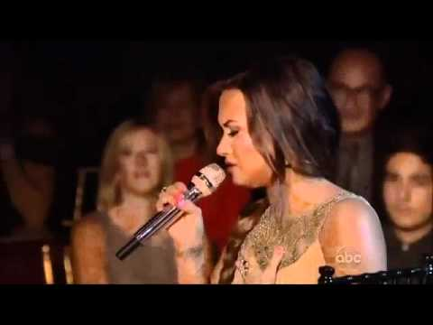 Demi Lovato - Skyscraper on Dancing With The Stars