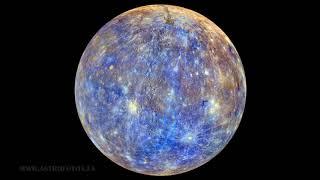 Planeta Mercurio, Rotación Y Colores