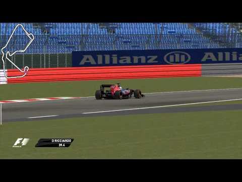 Grand Prix 4 - Daniel Ricciardo - Silverstone Circuit - 2013 - Trackside Lap