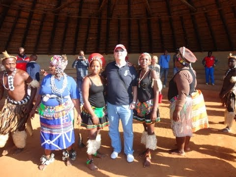 Traditional Zulu Dance at Phezulu Cultural Village South Africa