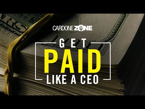 Are CEO's Overpaid? - CardoneZone