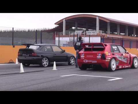 Oppliger Motorsport escort cosworth 617bhp vs lancia delta Errani erre 20