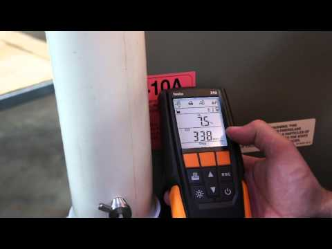Testo 310 Residential Commerical Combustion Analyzer