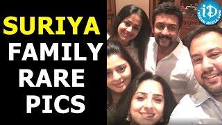 Pics: Actor Suriya, Jyothika with family