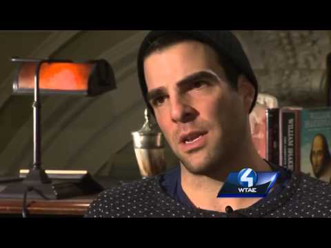 Hollywood star Zachary Quinto returns to Pittsburgh (part 2)