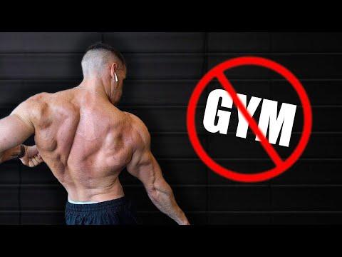 NO GYM Back Workout | Day 21