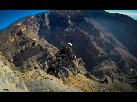 First Ever Wingsuit BASE Jumps In Oman - Graham Dickinson