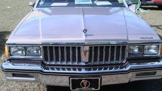 1984 Pontiac Parisienne Brougham Four Door Sedan TanBrnRenMD011312