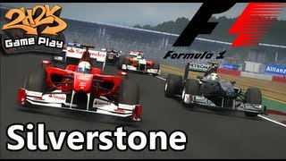 [F1 Game - Silverstone (Wet) - Gameplay]