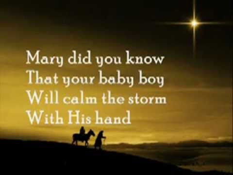 Clay Aiken - Mary Did You Know Lyrics | MetroLyrics