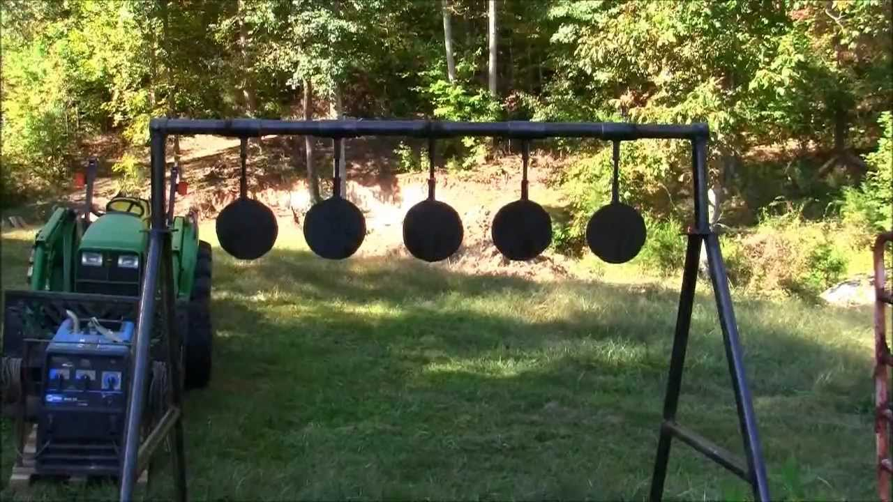 My Homemade Swinging Targets And The Range Officer