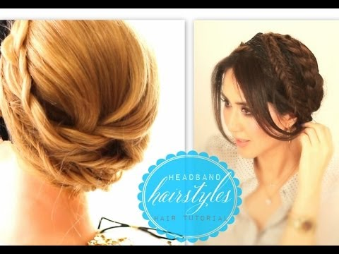 Braid Hairstyles For Long Hair Youtube : HAIRSTYLES #1 EVERYDAY CROWN BRAID PROM UPDO FOR MEDIUM LONG HAIR ...