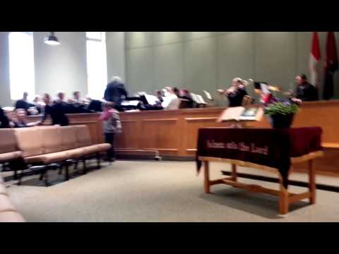 Oakville and Burlington Salvation Army Bands - Postlude - cut off