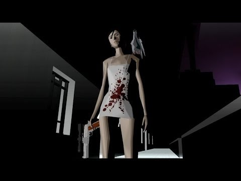 Killer 7 WS patched HD running on PCSX2 1.1.0