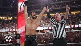 WWE Network: Seth Rollins makes The WWE List for stealing a win at WrestleMania 31