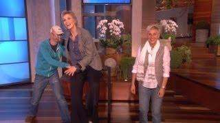 Ellen Has a Wax Figure!