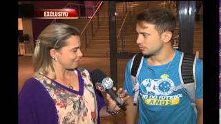 O Éverton Ribeiro saiu do jogo contra o Chapecoense e atendeu a equipe da TV Alterosa para falar de Cruzeiro e da expectativa para a apresentação na Seleção Brasileira.