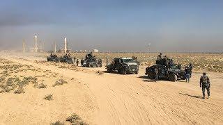 US-trained Kurds & US-trained Iraqis clash in Kirkuk
