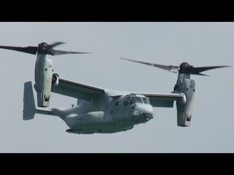 USMC MV-22 オスプレイ Osprey Singapore Air Show 2014