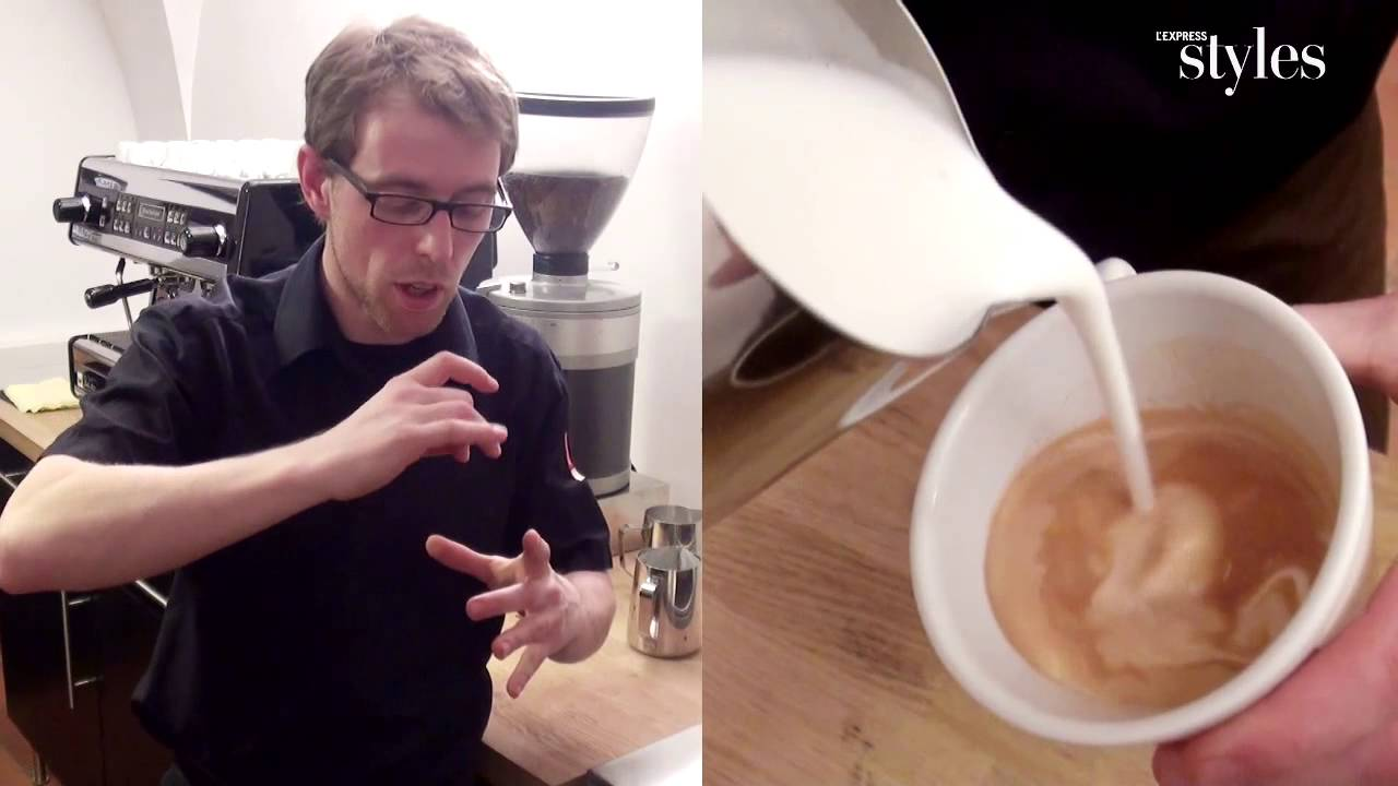 saint valentin comment faire un coeur de mousse de lait dans son cappuccino youtube. Black Bedroom Furniture Sets. Home Design Ideas