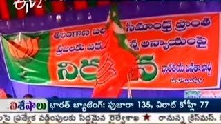 BJP Seemandhra Cadre Is Ready To Protest Against Bifurcation