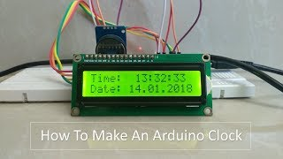 Arduino Real Time Clock DS3231 with I2C LCD Display - Simple Sketch