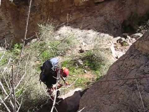 Canyoneering With Highly Trained Professionals - Don't try this at home