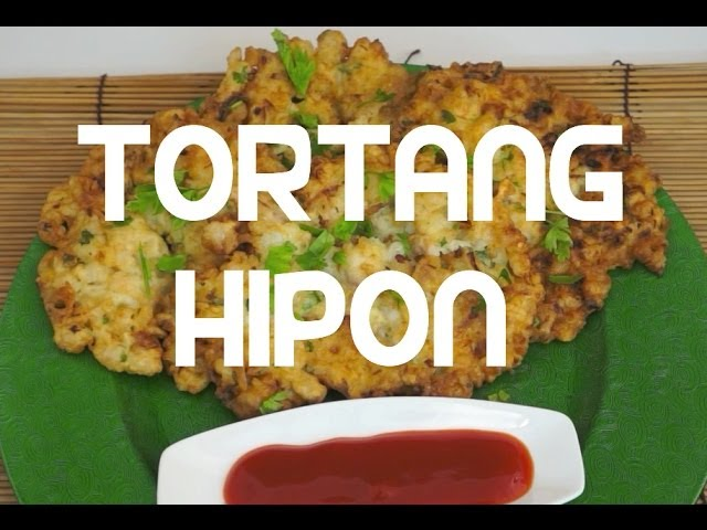 Tortang Hipon Recipe Pinoy Cooking Shrimp Omelette - Tagalog English Filipino