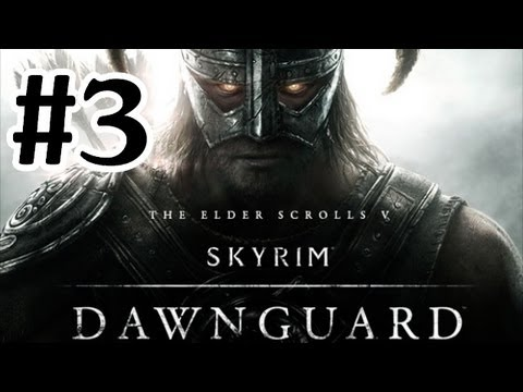 Elder Scrolls V : Skyrim Dawnguard DLC Walkthrough - Part 3 Vampire Lord Gameplay
