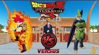 DRAGON BALL Z BUDOKAI TENKAICHI 3 LATINO TORNEO GOKU SSJ