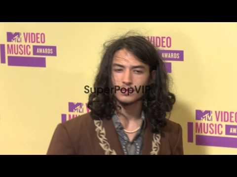 Ezra Miller at 2012 MTV Video Music Awards on 9/6/2012 in...