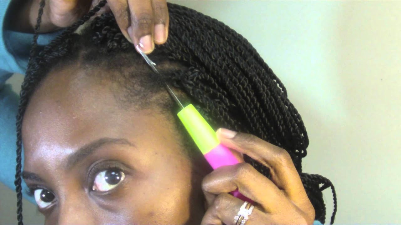 Pre Twisted Crochet Hair Styles : Crochet Braids with Pre-Twisted Hair: Natural Hair Protective Style ...