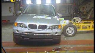 Euro NCAP BMW X5 2003 Crash Test