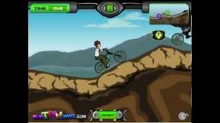 Juego De BMX Ben 10 BMX Gratis Online