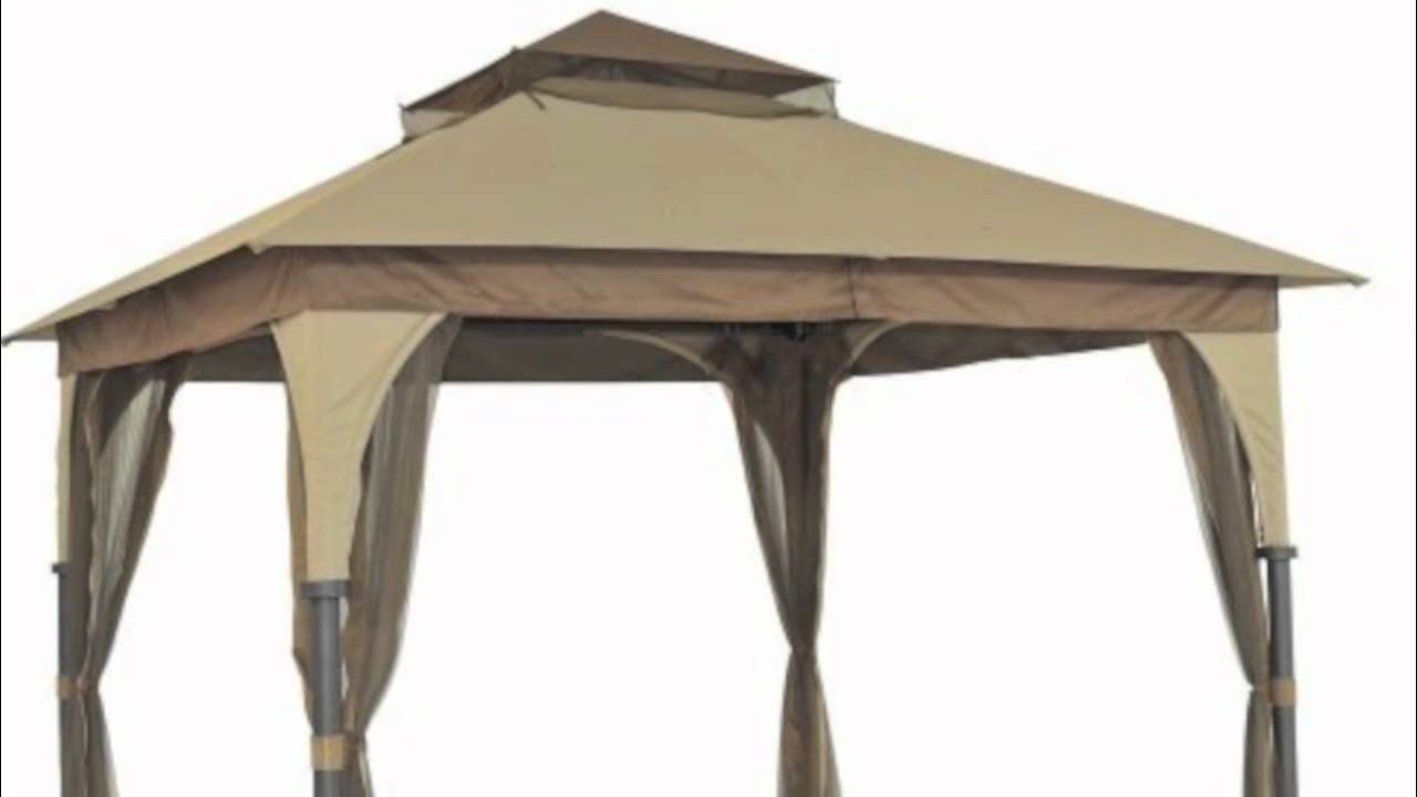 Target Outdoor Patio 8x8 Gazebo Replacement Canopy - YouTube