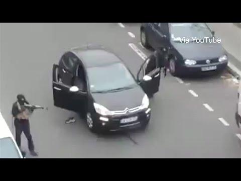 Những kẻ tấn công đọ súng cảnh sát Pháp