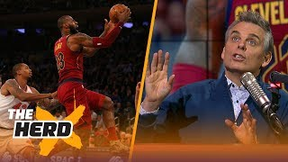 LeBron is the MacGyver of the NBA, meanwhile Westbrook's Thunder struggle | THE HERD