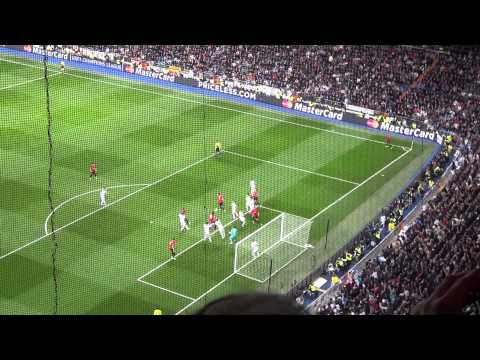 The Longest European Goal Celebration Ever - Danny Welbeck in the Bernabeu 13.02.13