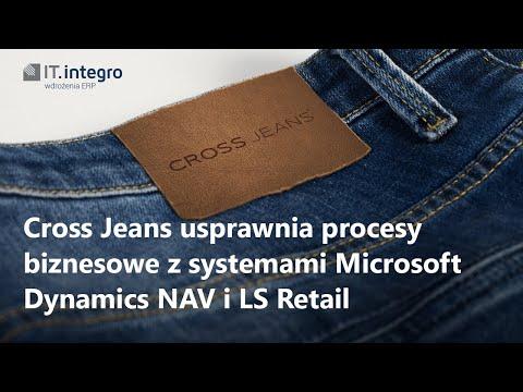Cross Jeans z systemem ERP Microsoft Dynamics NAV i LS Retail